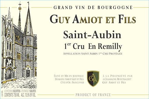 Domaine Guy Amiot et Fils Saint-Aubin, Premier Cru, En Remilly 2019-2
