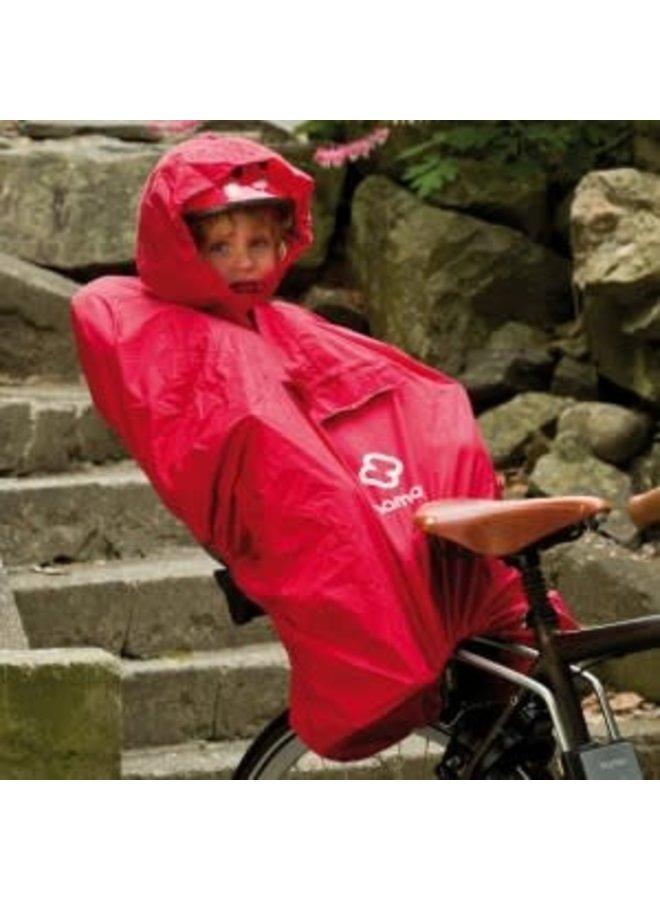 Hamax Rain Poncho  Colore Rosso