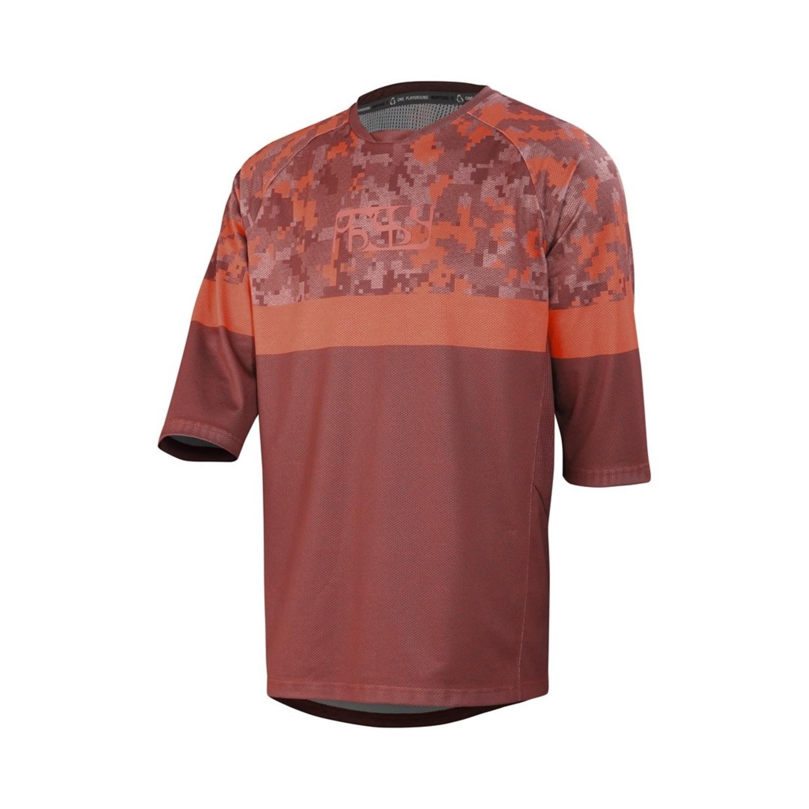 IXS IXS T-Shirt Carve Air Jersey Night Red Black (S)