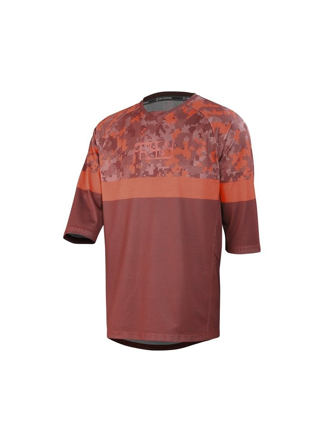 IXS T-Shirt Carve Air Jersey Night Red Black (L)