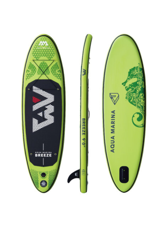 SUP Breeze - All-Around iSUP; 2.75m/12cm; with paddle and safety leash