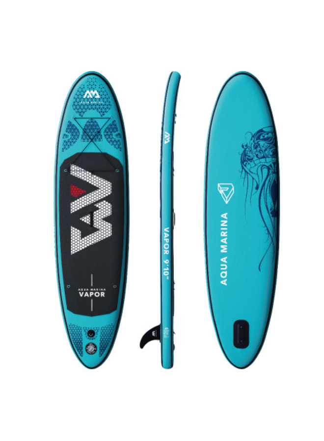 SUP Vapor - All-Around iSUP; 3m/12cm; with paddle and safety leash