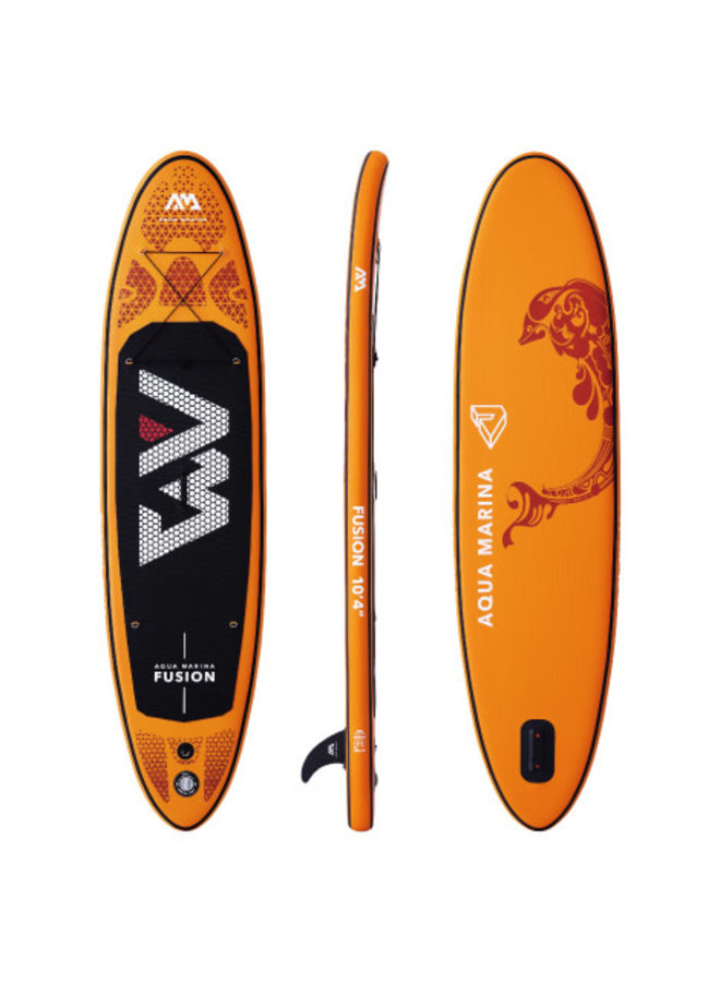SUP Fusion - All-Around iSUP, 3.15m/15cm, with paddle and safety leash