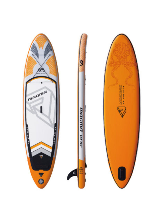 SUP Magma - Advanced All-Around iSUP, 3.3m/15cm, with paddle and safety leash