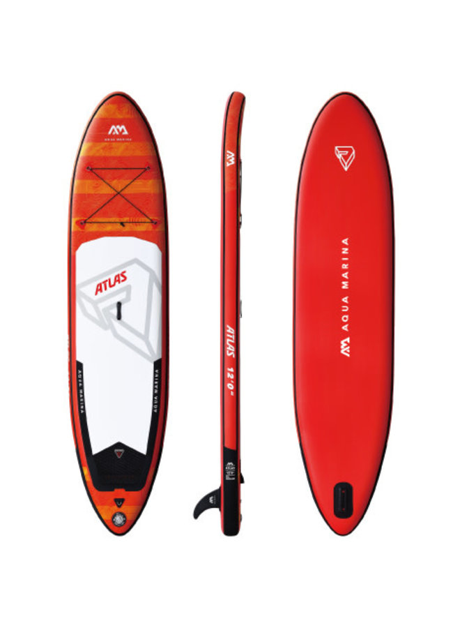 SUP Atlas - Advanced All-Around iSUP; 3.66m/15cm; with paddle and safety leash