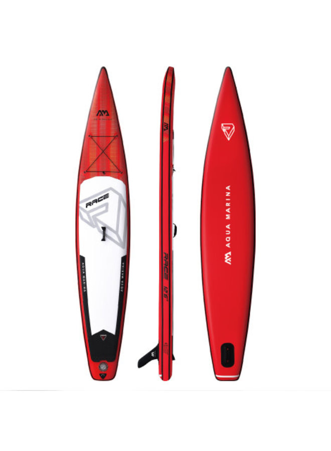 SUP Race - Racing iSUP, 3.81m/15cm, with safety leash