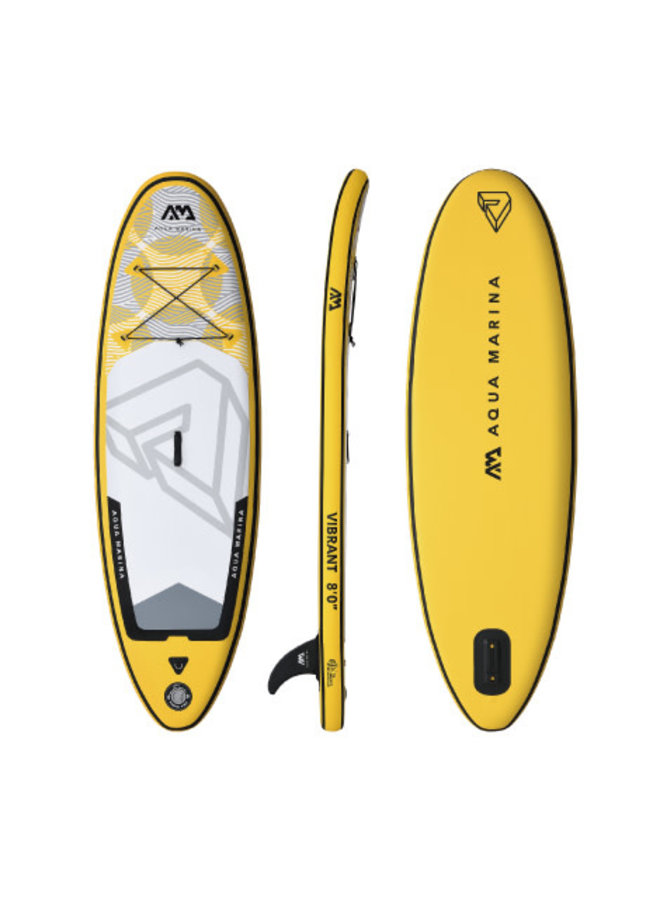 SUP Vibrant - Youth iSUP; 2.44m/10cm; with paddle and safety leash