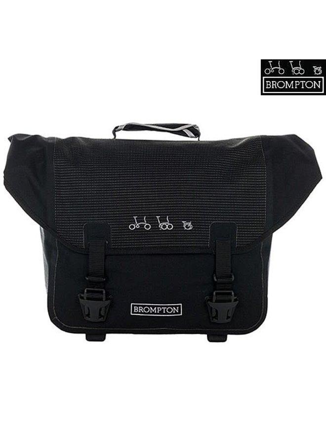 BROMPTON Borsa O Bag Ortlieb Reflective Black