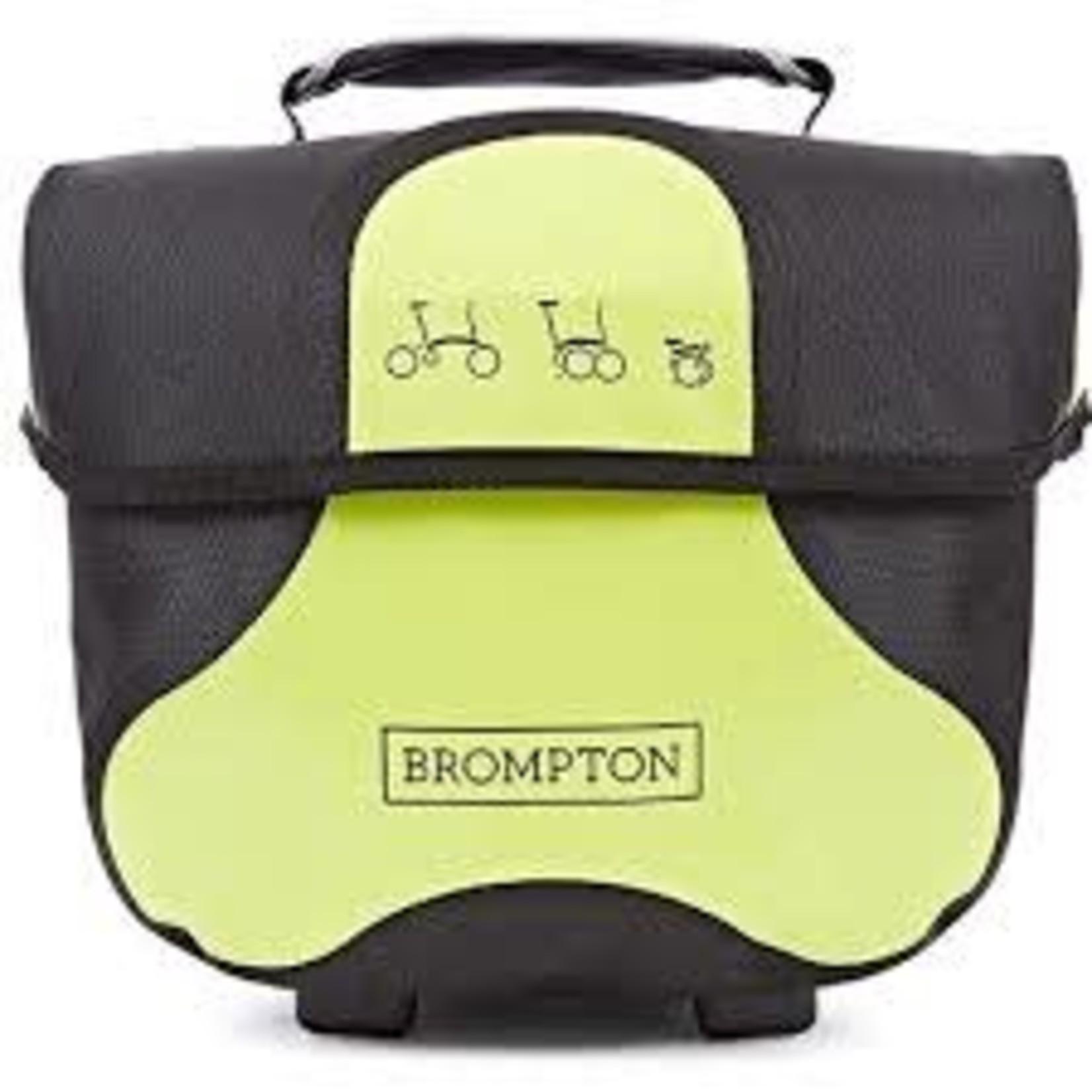 Brompton BROMPTON Tasche Mini O Bag Ortlieb Lime Green
