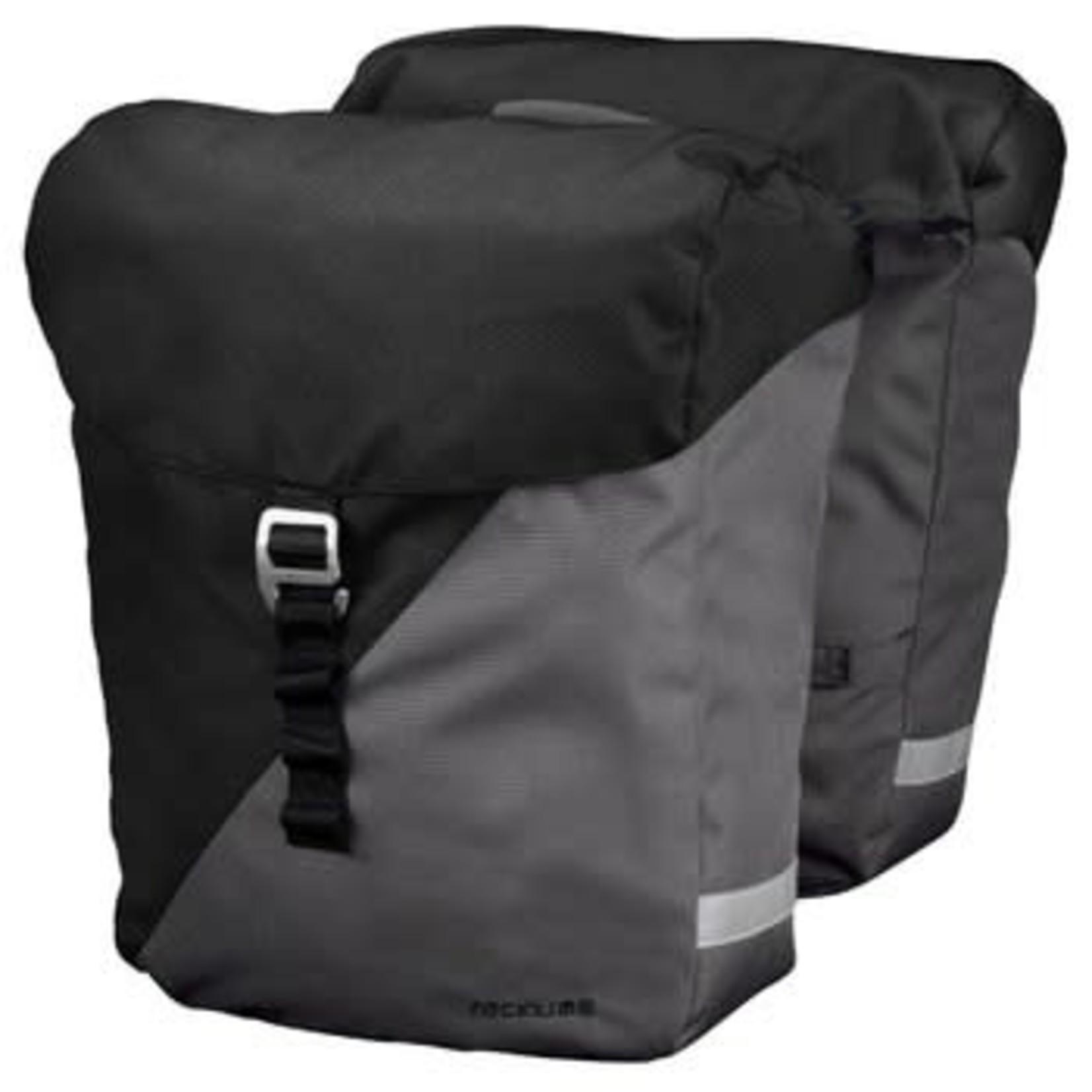 RACKTIME Racktime VIDA Hintenrad Taschen Double Bag carbon black /stone grey - 24;5L