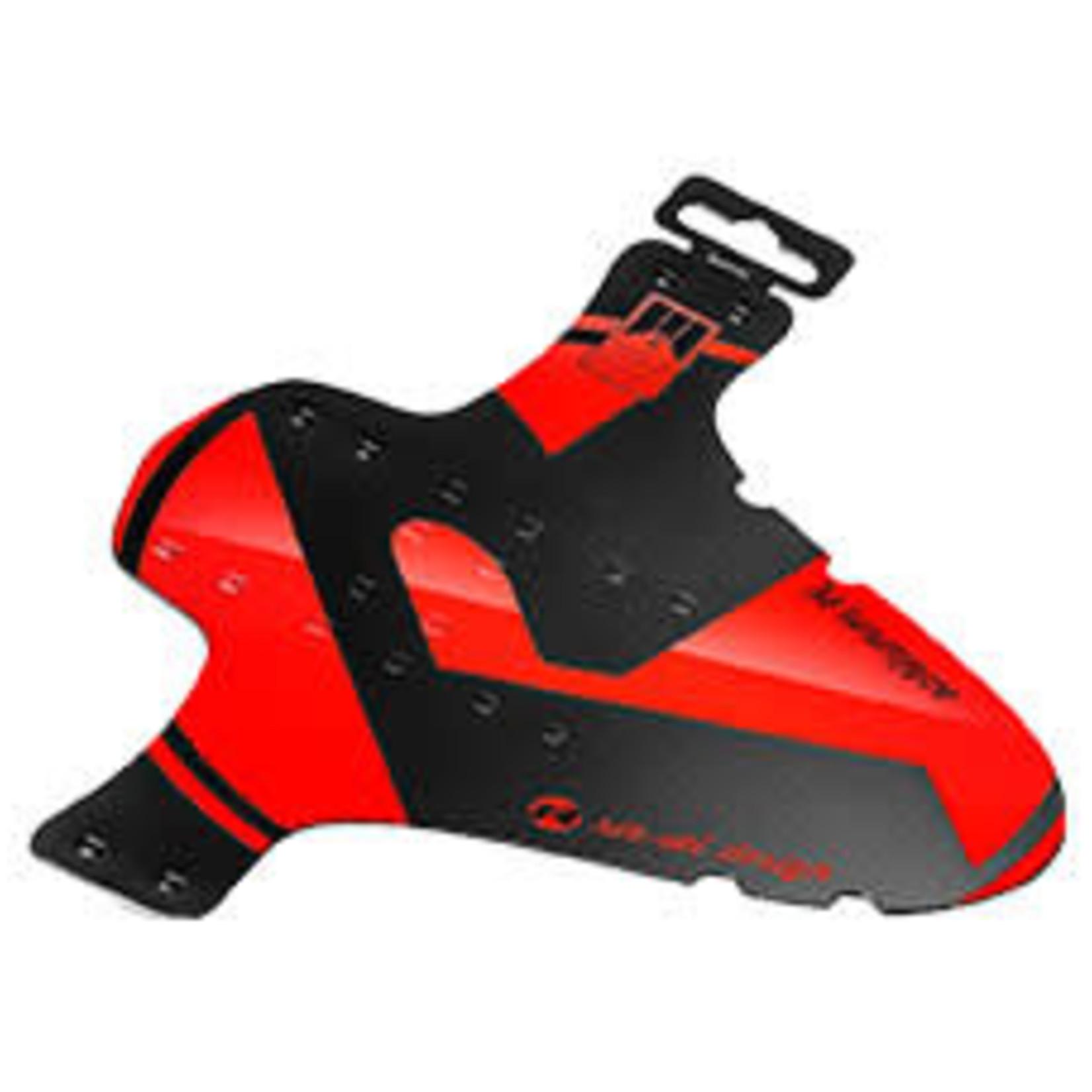 Rie Sel Design Schutzbleche Vorne a Fascette Mudguard - rosso