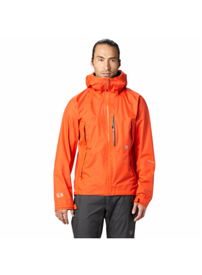 Giacca Impermeabile Arancio Gore-Tex Paclite Jacket (M)