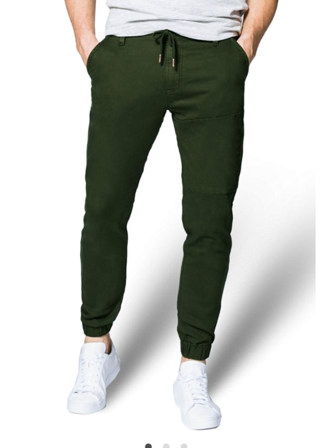 Jeans DU/ER No Sweat Jogger Slim Fit Olive 31
