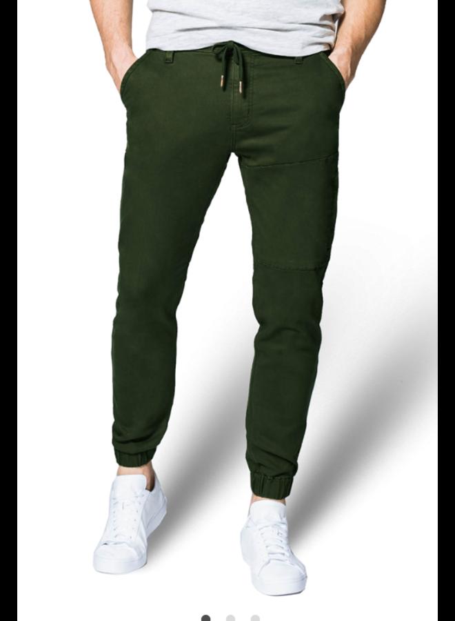 Jeans DU/ER No Sweat Jogger Slim Fit Olive 31