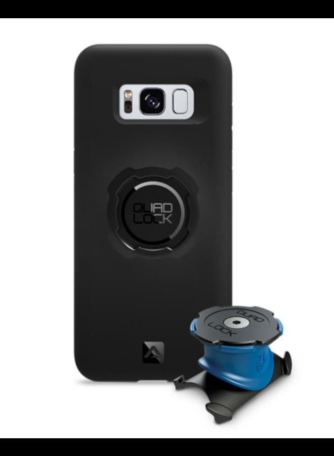 Quad Lock Samsung Galaxy S8+ bike kit