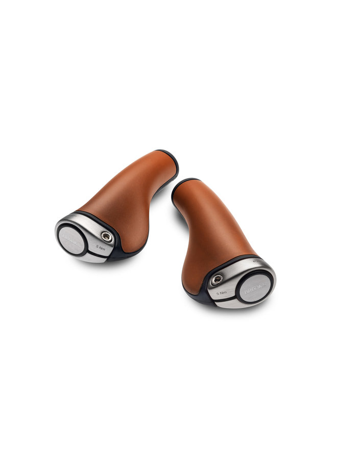 Brooks manopole Ergon GP1 leather - brown