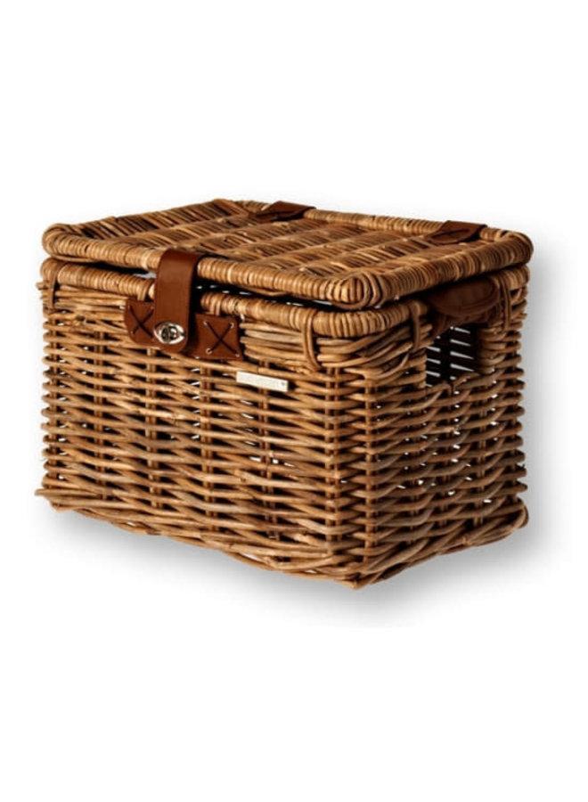 Basil Cesto  Basket Rattan Look nature brown