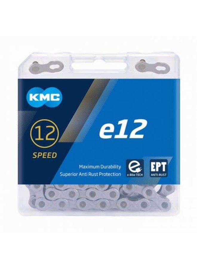 KMC catena e12 12 velocità e-bike tech black