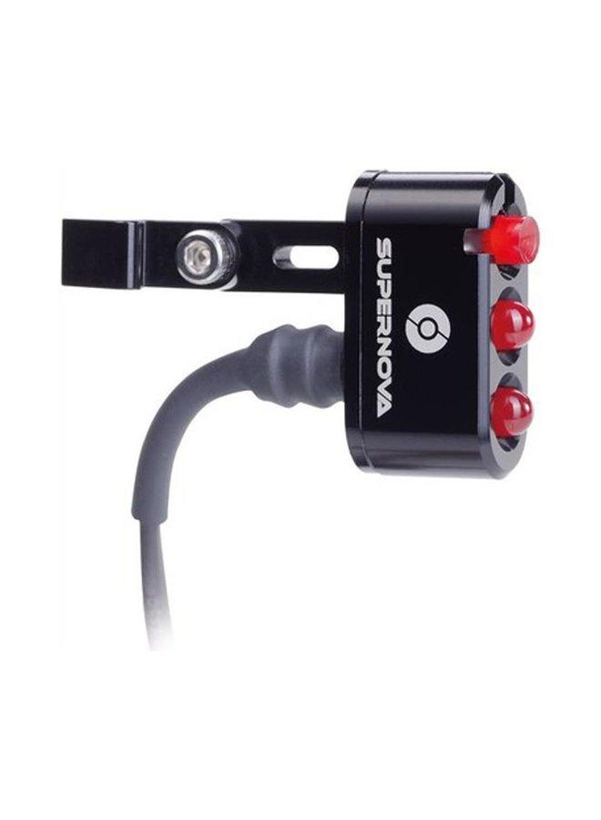 AAA Luce posteriore Supernova E3 6V reggi sella 31.6mm