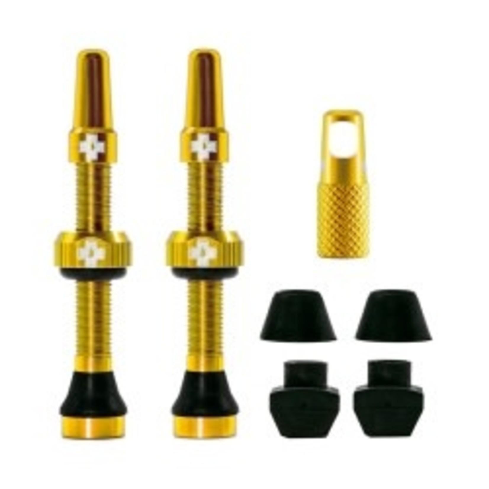 Muc-Off Muc-Off kit valvola tubeless 44mm - giallo
