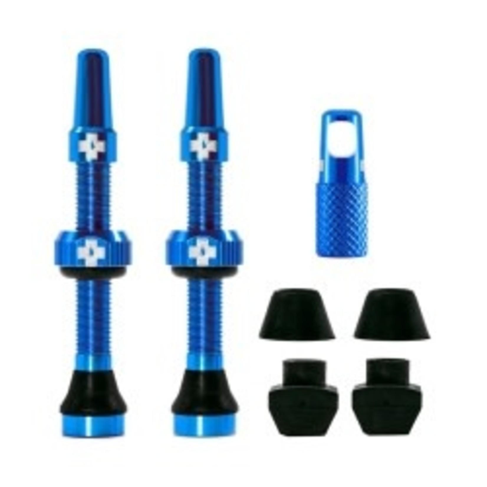 Muc-Off Muc-Off kit valvola tubeless 44mm - blu