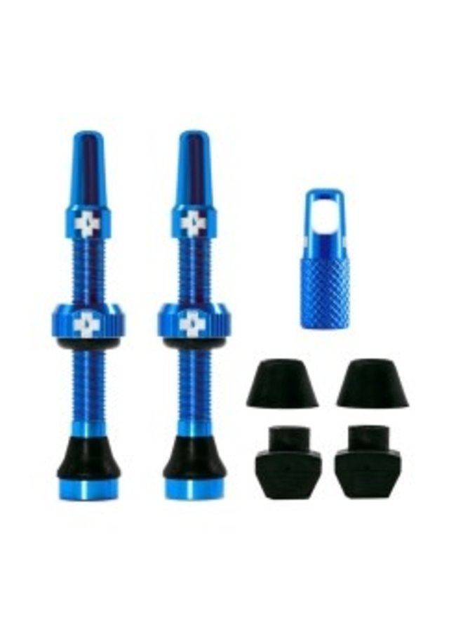 Muc-Off kit valvola tubeless 44mm - blu