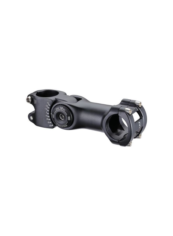 BBB Pipa regolabile  130mm 31.8mm (+40º/-30º) nera