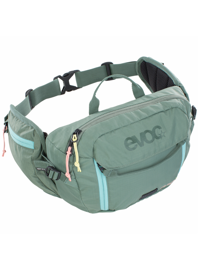 Marsupio EVOC Hip Pack 3L verde olivo