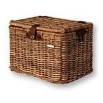 BASIL Basil Cesto  Basket DENTON Rattan Look vimini coperchio