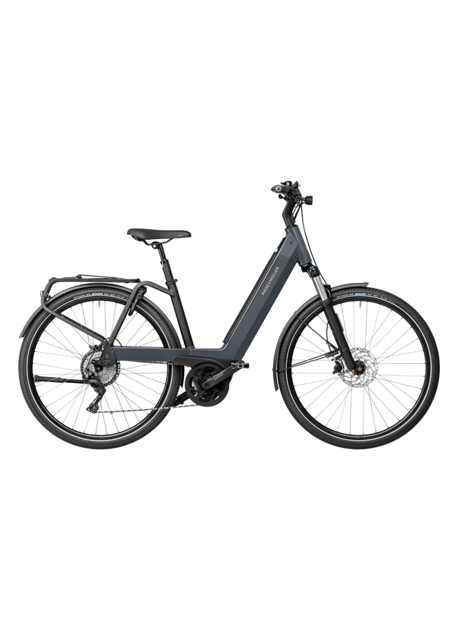 Riese & Müller Nevo3 touring 625wh / lunar grey metalic / 47cm / kiox / RX chip /portapacchi