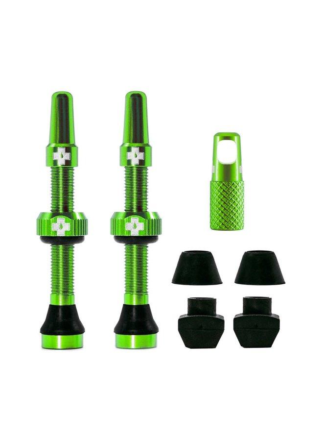 Muc-Off kit valvola tubeless 44mm - verde