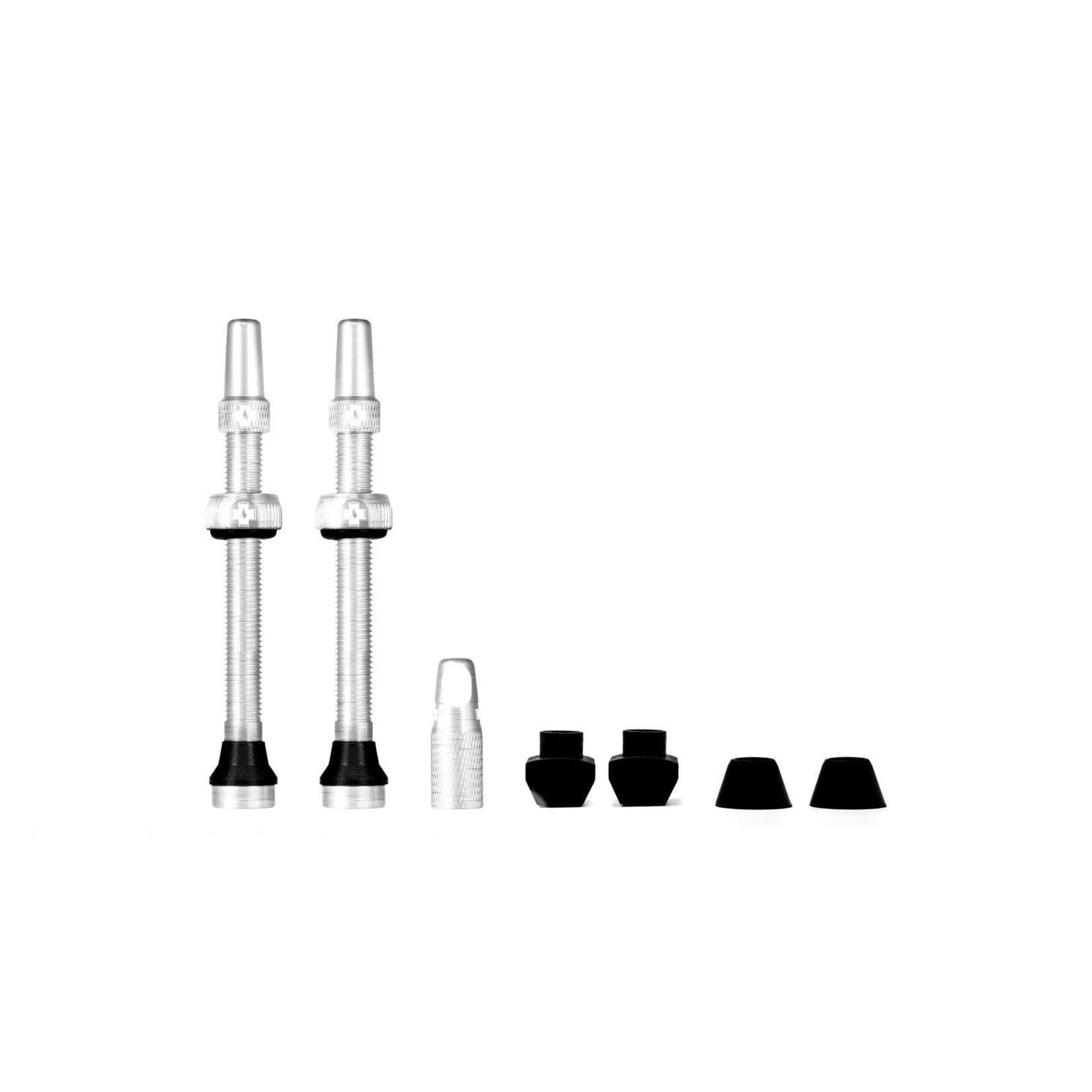 Muc-Off Muc-Off kit valvola tubeless 60mm - argento