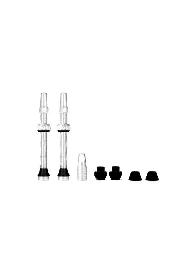 Muc-Off kit valvola tubeless 60mm - argento