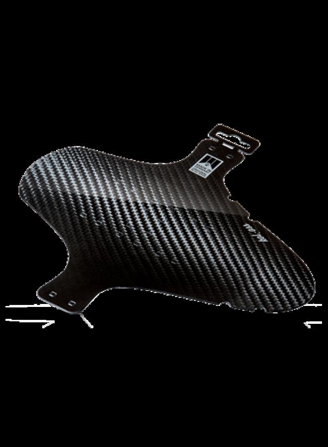 Parafango anteriore fascette mudguard carbonio