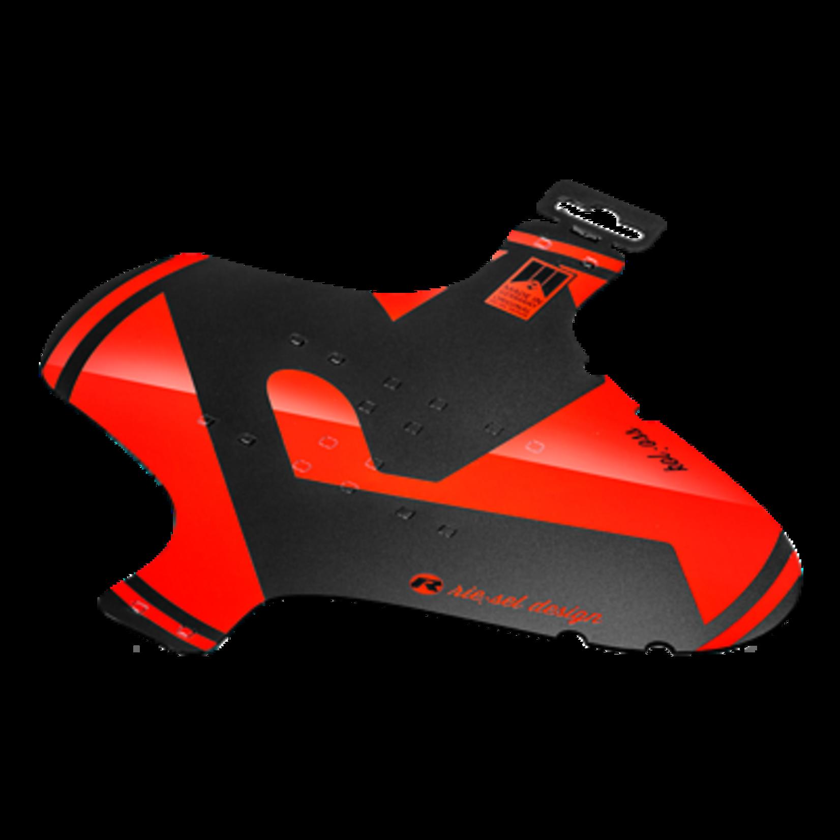 Rie Sel Design Schutzbleche Vorne fascette mudguard rosso