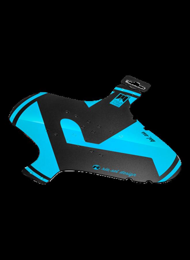 Parafango anteriore fascette mudguard blu
