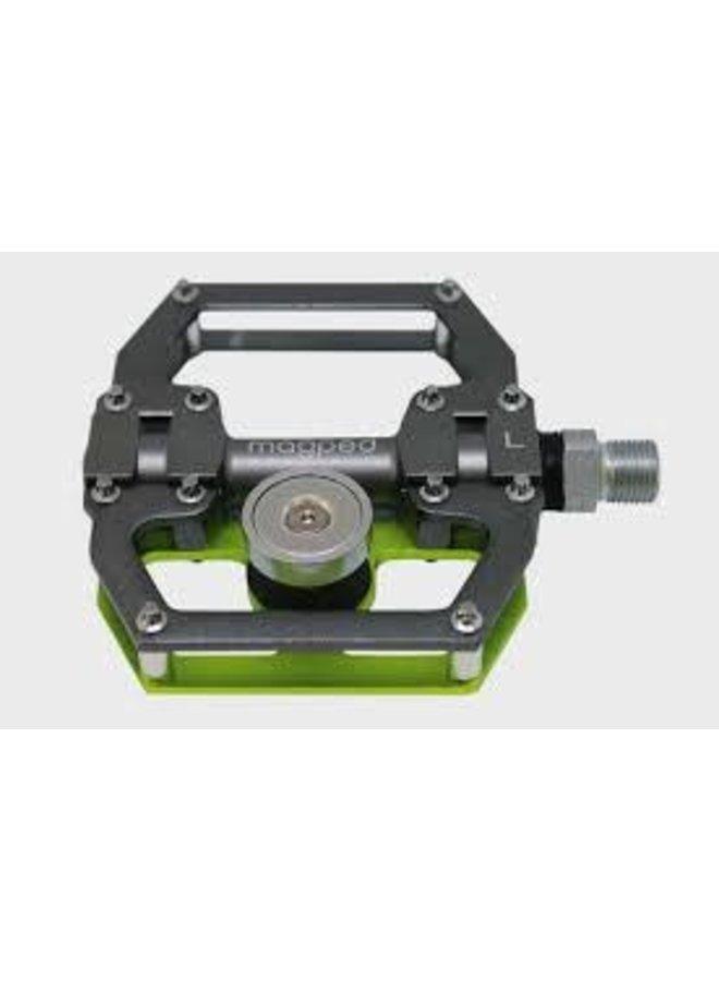 MagPed - pedali magnetici sport150 grigio/verde