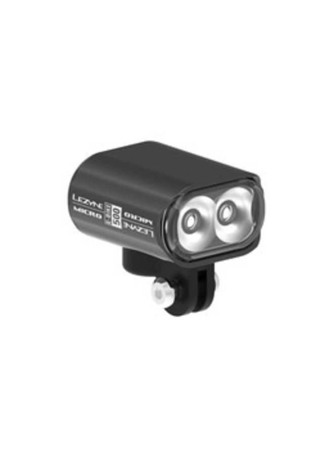 Lezyne -  luce front Micro drive 500