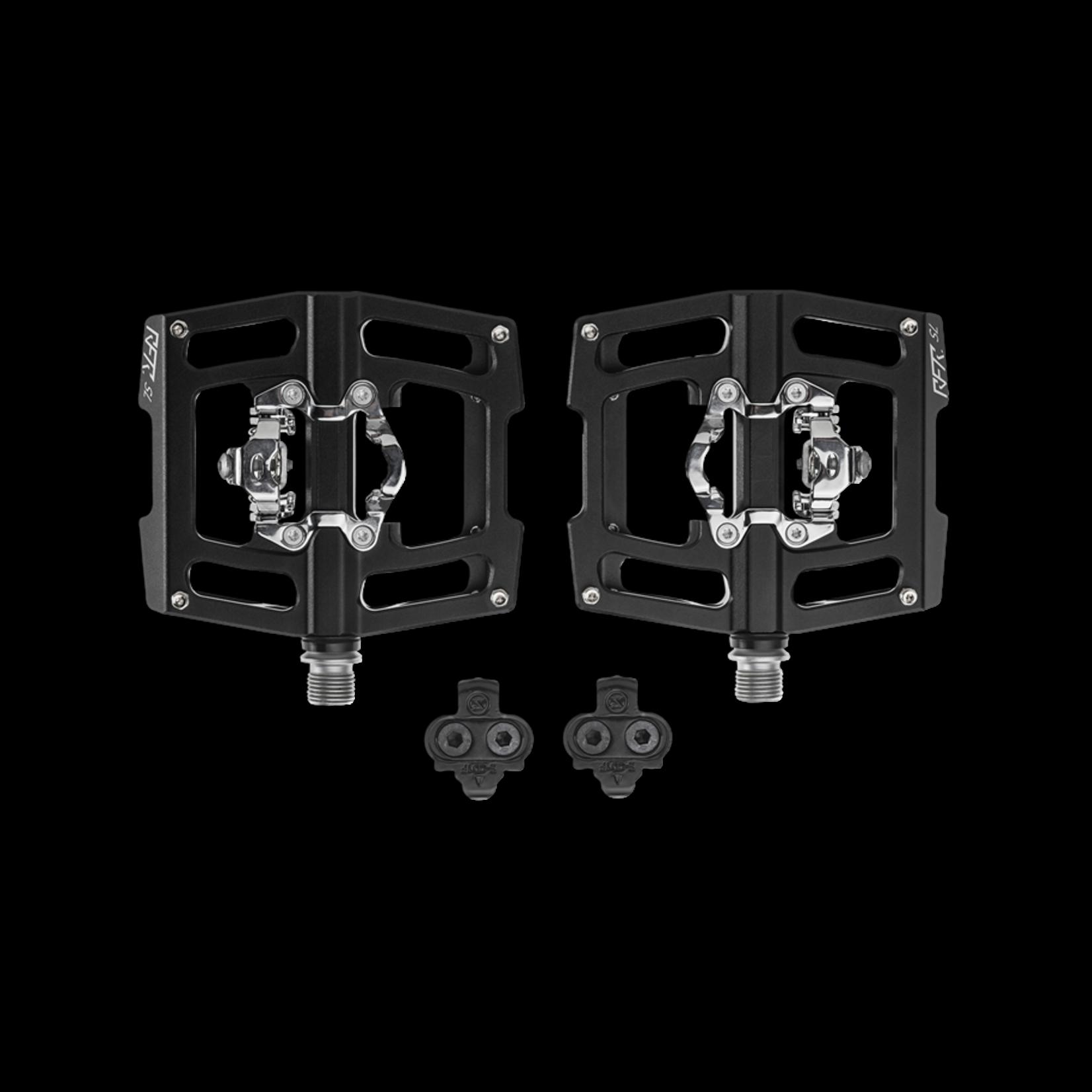 CUBE RFR Pedali Flat & Click SL - black