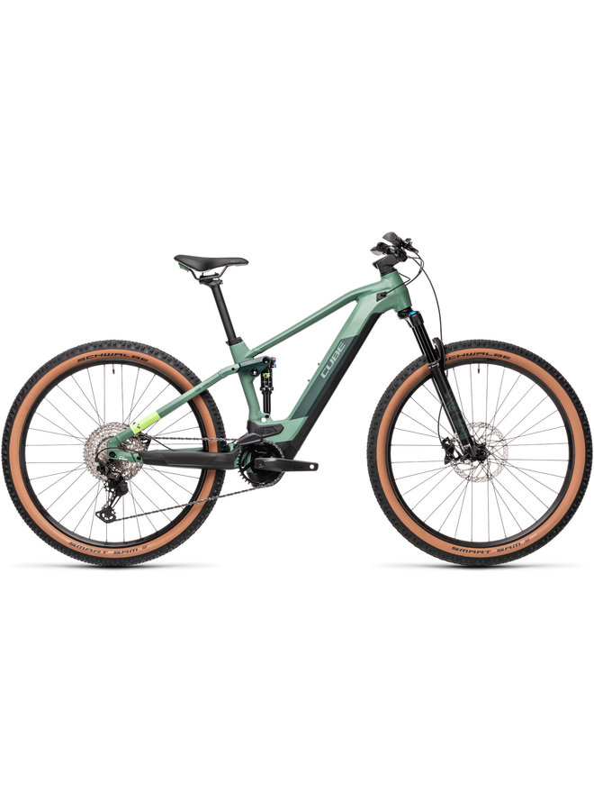 Cube Stereo Hybrid 120 Race 625 29 2021 green'n'sharpgreen 18""