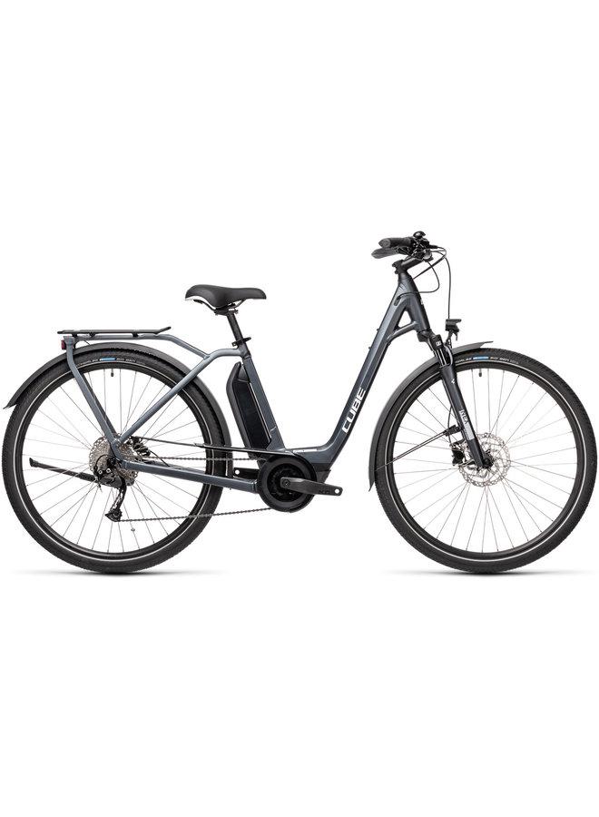 Cube Town Sport Hybrid ONE 400 2021 iridium'n'grey