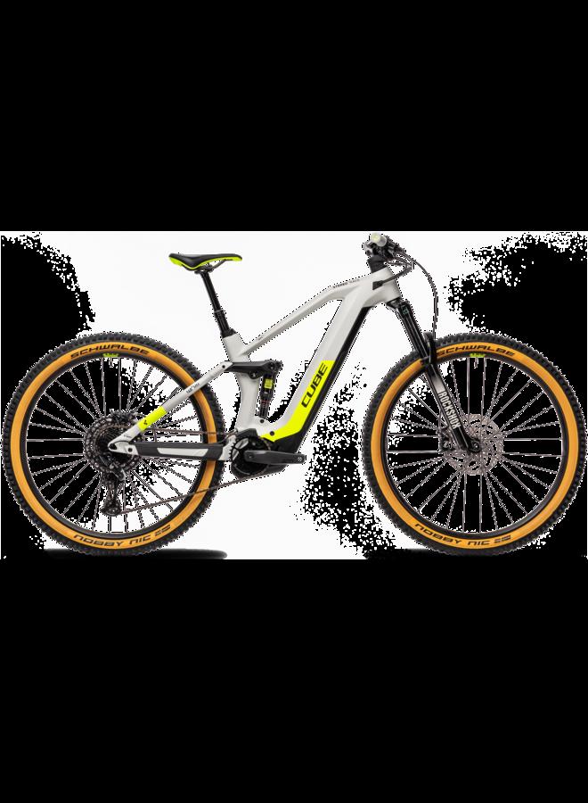 Cube Stereo Hybrid 140 HPC Race 625 grey'n'yellow 2021