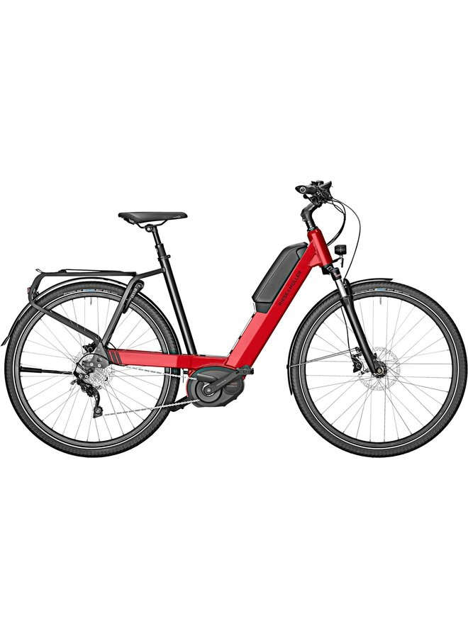 Riese & Müller Nevo touring 56cm fire red