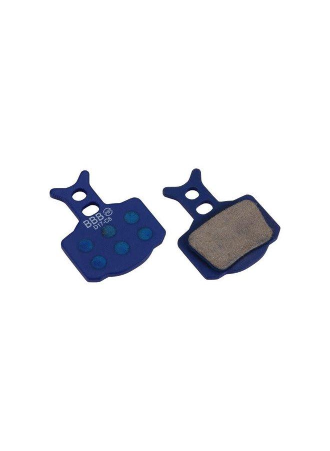 BBB - Pastiglie freno Formula Mega, The One, C1 / R1 / RR1 / RX / RO / T1, organiche, 1 coppia