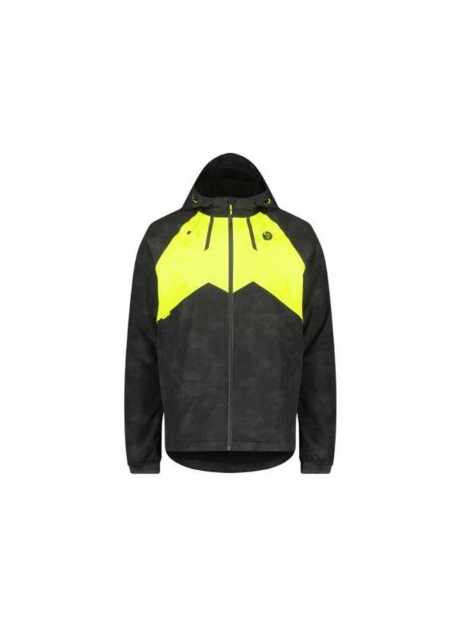 AGU Commuter giacca invernale pioggia Hi-vis/Reflection uomo