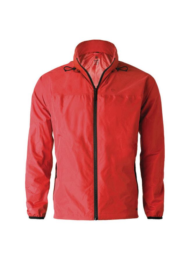 AGU GO! Unisex giacca pioggia rossa