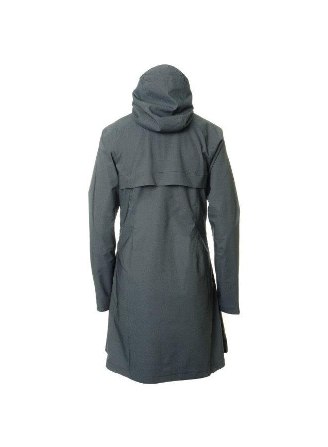 AGU SEQ Urban giacca pioggia blu donna