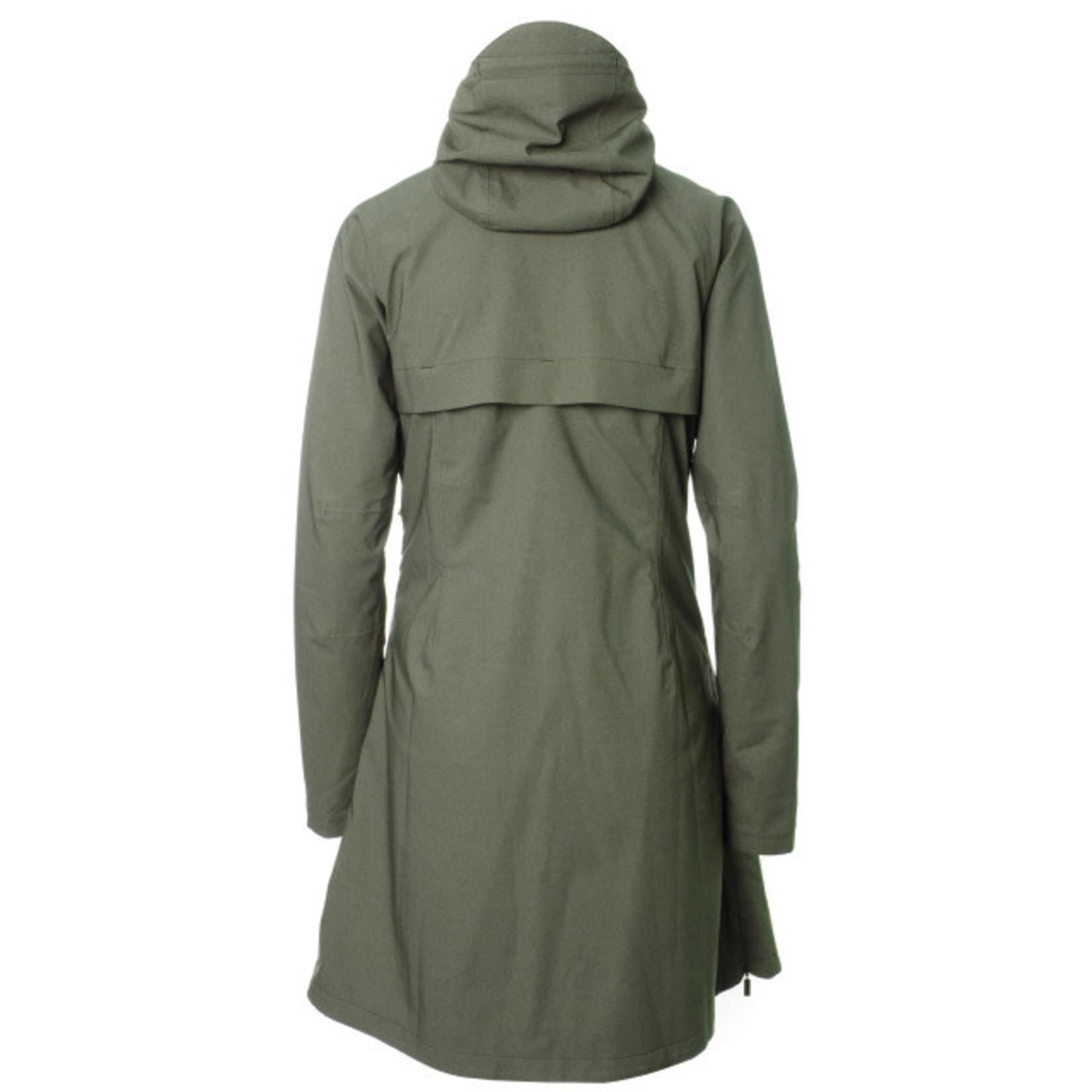 AGU AGU SEQ Urban Jacke Regen verde donna