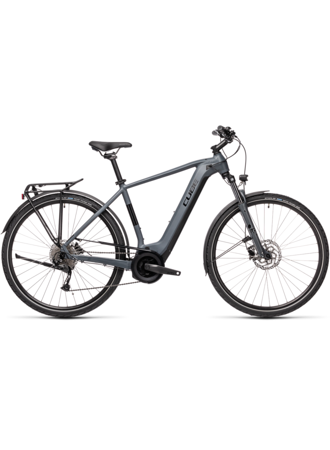 Cube Touring Hybrid ONE 400 grey'n'black 2021