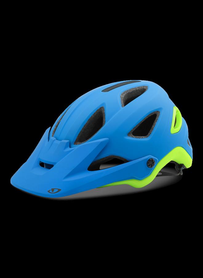 Casco Giro Montaro MIPS matt black/iceberg Blue/Lime S